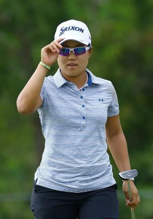 女子ゴルフ、畑岡は7位のまま