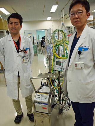 人工肺「エクモ」のチーム医療へ人材育成